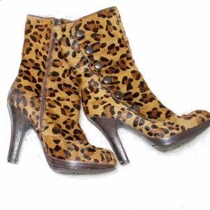 Sam Edelman | Leopard Print Heeled Boots